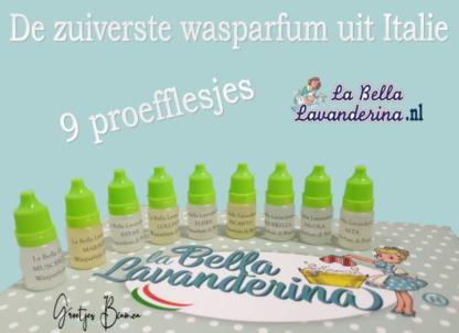 Wasparfum La Bella proefflesjes